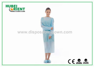 Fluid Resistant CPE Disposable Protective Gowns 35 Gsm – 63 Gsm